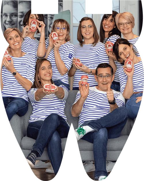 Equipe du cabinet orthodontique La Rochelle